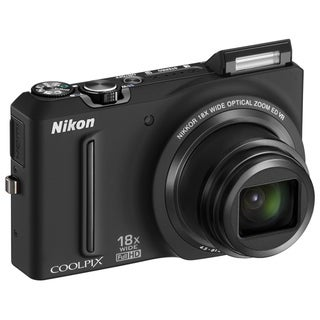 Nikon Coolpix S9100 12.1MP Black Digital Camera (Refurbished)