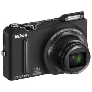 Nikon Coolpix S9100 12.1MP Black Digital Camera (Refurbished)
