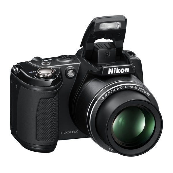 Nikon Coolpix L310 14MP Black Digital Camera