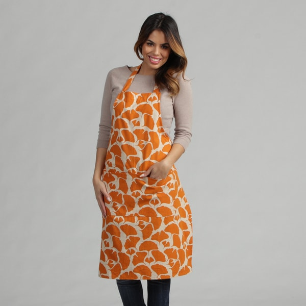 Orange Gingko Apron (Indonesia)