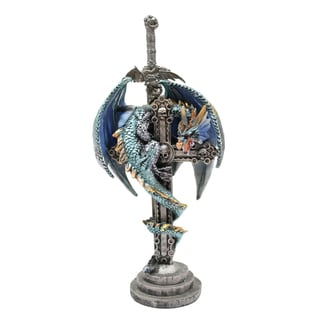 Dragon Figurine with Sword Letter Opener