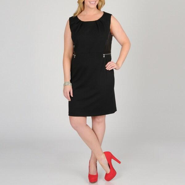 Grace Elements Women's Plus Ponte Dress