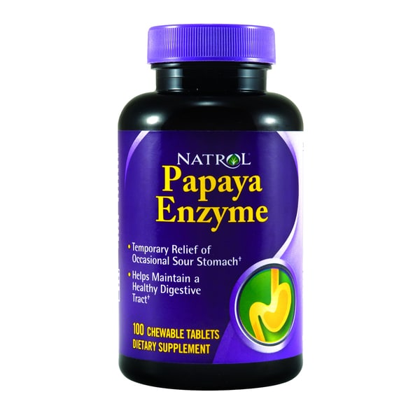 Natrol Papaya Enzyme Chewable Tablets (100-count)