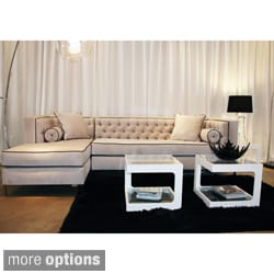 Decenni Custom 'Tobias' Tufted Sectional