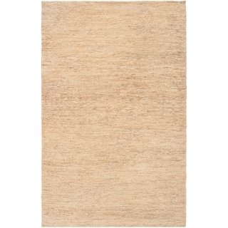 Hand-woven Novice Natural Fiber Hemp Rug
