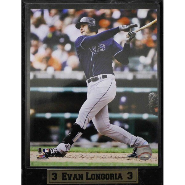 Tampa Bay Rays Evan Longoria Photo Plaque (9 x 12) 10020450