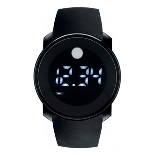 Movado Men&#39;s Bold Touch Screen Dual-time digital Watch