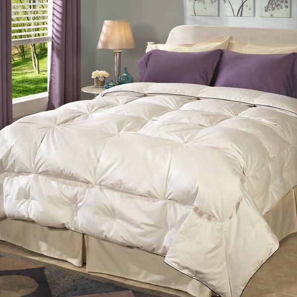 High Loft Pleated Detail 300 Thread Count Down Comforter