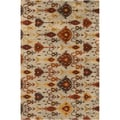 Hand-tufted Bellmead New Zealand Wool Rug