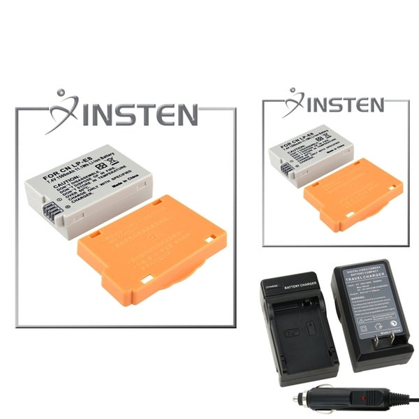 INSTEN Battery/ Charger for Canon Rebel T2i/ EOS 550D