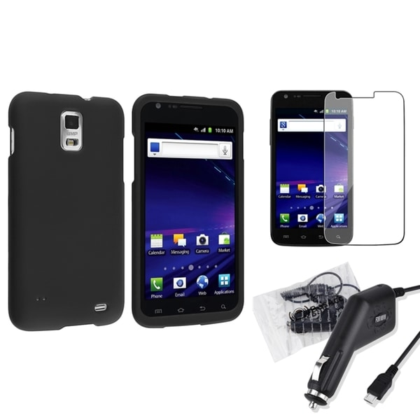 INSTEN Phone Case Cover/ Charger/ Protector for Samsung Galaxy S II/ S2 Skyrocket