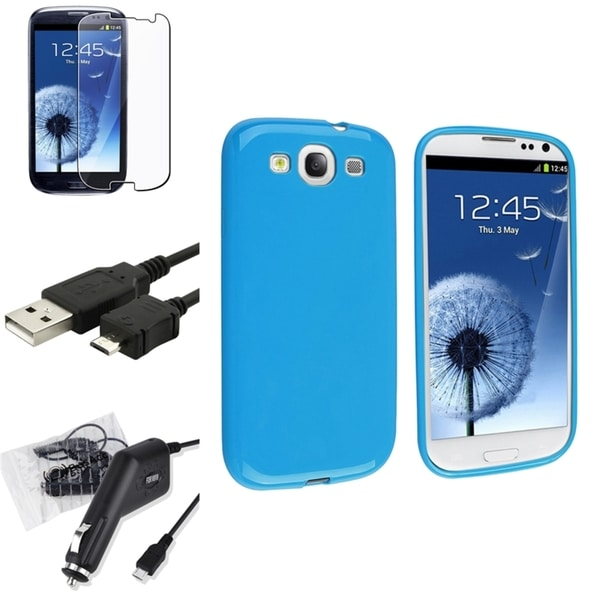INSTEN Phone Case Cover/ Protector/ Cable/ Charger for Samsung Galaxy S3/ S III