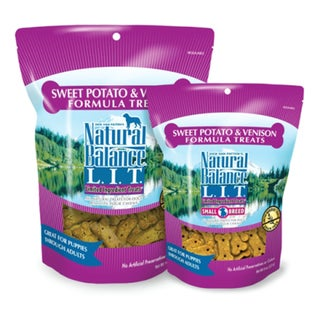 Natural Balance L.I.T. Limited Ingredient Treats Sweet Potato & Venison Formula Treats
