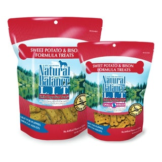 Natural Balance� L.I.T. Sweet Potato & Bison Formula 8-ounce Dog Treats