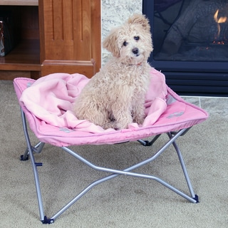 Carlson Portable Pup Pink Travel Pet Bed