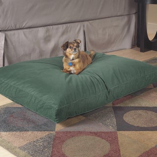 Stain Resistant Natural Fill Pet Bed with Cover