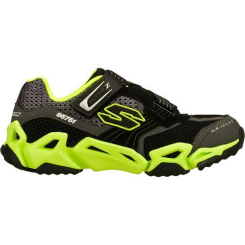 Boys' Skechers Air Tricks Fierce Flex Gravitron Black/Green
