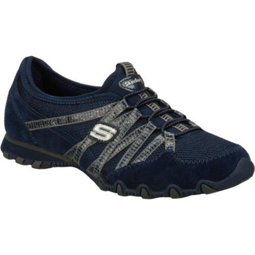 Women's Skechers Bikers Hot Ticket Navy/Navy