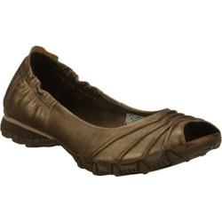 Women's Skechers Bikers Scrunchy Bronze/Bronze