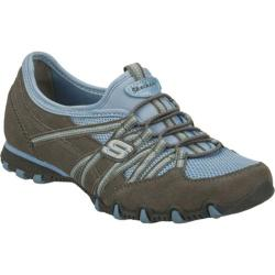 Women's Skechers Bikers Stereo Sound Gray/Blue