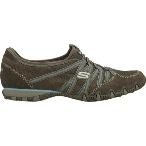 Women's Skechers Bikers Verified Gray/Light Blue