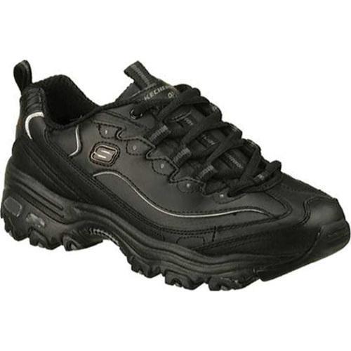 Women's Skechers D'Lites Black Sneakers
