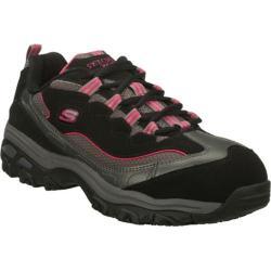 Women's Skechers D'Lites S R Service Black/Pink