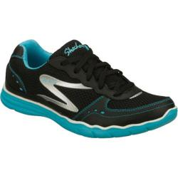 Women's Skechers Danza Black/Blue