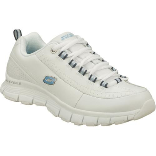 Women's Skechers Flex Fit Super Power White/Blue
