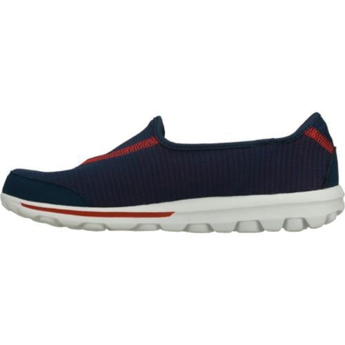 Women's Skechers GOrecovery Navy/Red