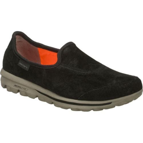 Women's Skechers GOwalk Autumn Black/Gray