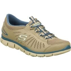 Women's Skechers Gratis Big Idea Brown/Blue