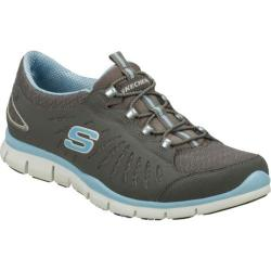 Women's Skechers Gratis In Motion Gray/Blue