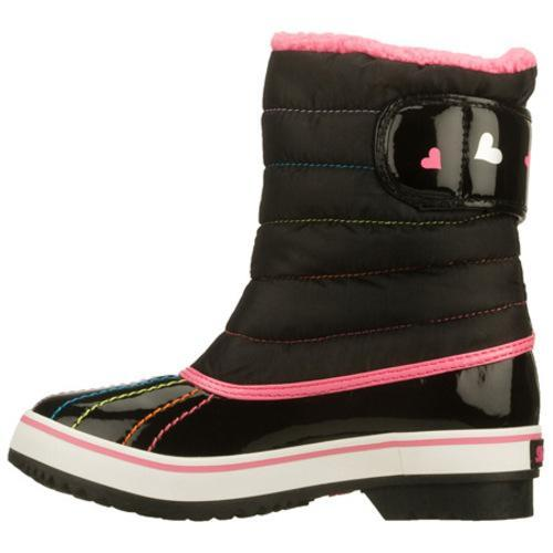 Girls' Skechers Highlanders Cosmic Queen Black/Pink