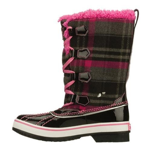 Girls' Skechers Highlanders Safari Glitz Black/Pink