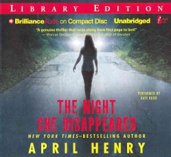 The Night She Disappeared: Library Edition (CD-Audio)