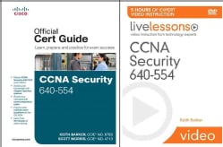 CCNA Security 640-554 Official Certification Guide + Livelessons