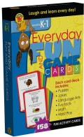 Everyday Fun and Game Cards Activity Cards, Grades K - 1 (Cards)