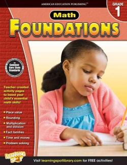 Math Foundations, Grade 1 (Paperback)