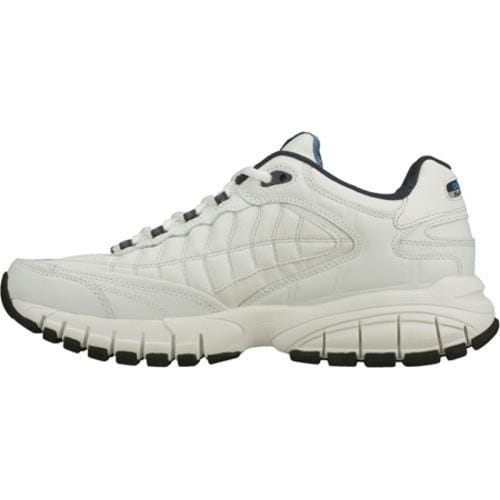 Men's Skechers Juke White/Navy