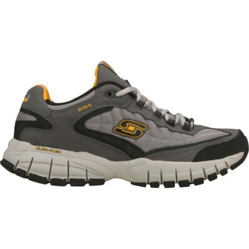 Men's Skechers Juke Bighorn Gray/Yellow
