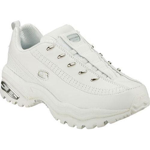 Women's Skechers Premium Premix White Leather (W)