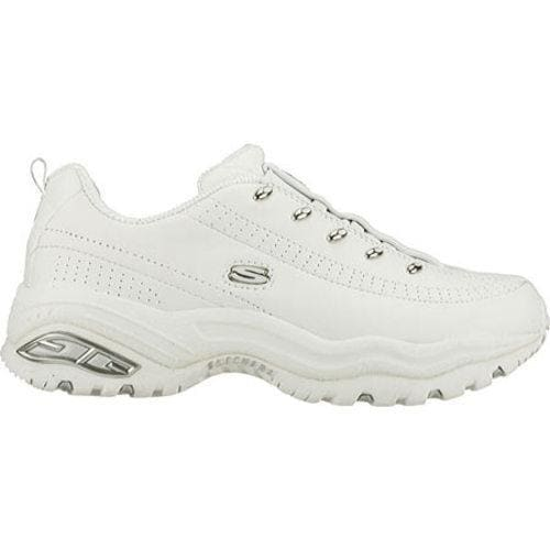 Women's Skechers Premium Premix White Leather (W)