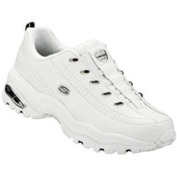 Women's Skechers Premium Premix White/Navy