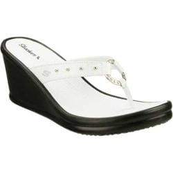 Women's Skechers Rumblers Kitty White