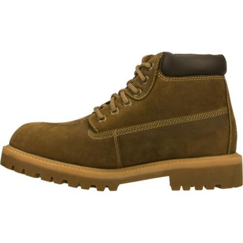 Men's Skechers Sergeants Verdict Brown Waterproof Oiled Nubuck