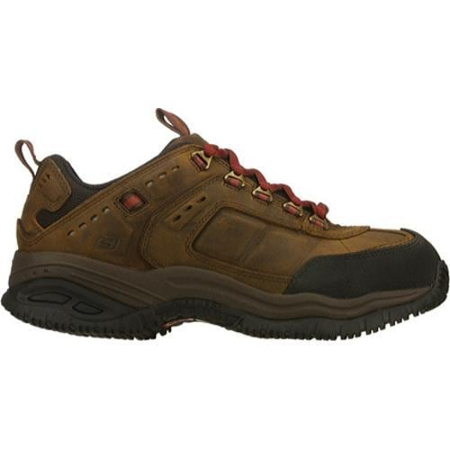 Men's Skechers Soft Stride Constructor Dark Brown