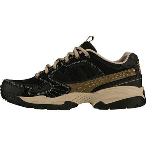 Men's Skechers Sparta Black/Brown