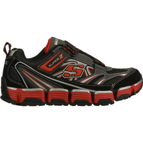 Boys' Skechers Supreme Flex Revert Black/Red