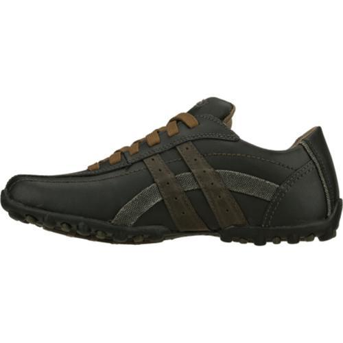 Men's Skechers Talus Burk Black/Gray